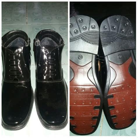 jual sepatu kulit pdl tni pdl polda pdh kulit cibaduyut di lapak ariezko shop ii maphendosa