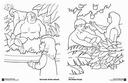 Coloring Pages Bible Story Sheets Kindergarten Science
