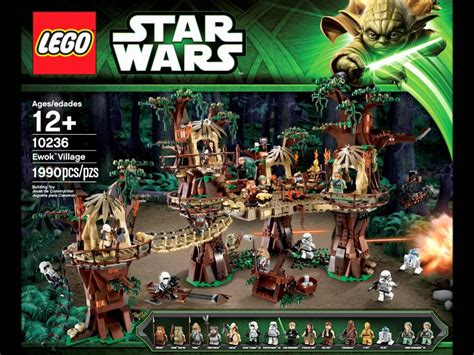 lego ewok village  lego star wars  youtube