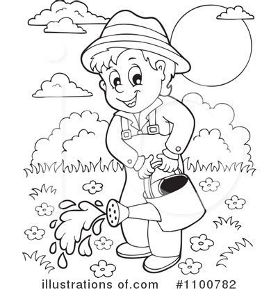 gardening clipart black and white black and white flower garden clipart clipart suggest