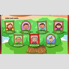 Vocabulary  Family Vocabulary Song  Children And Family Vocabulary Playing Family Games Youtube