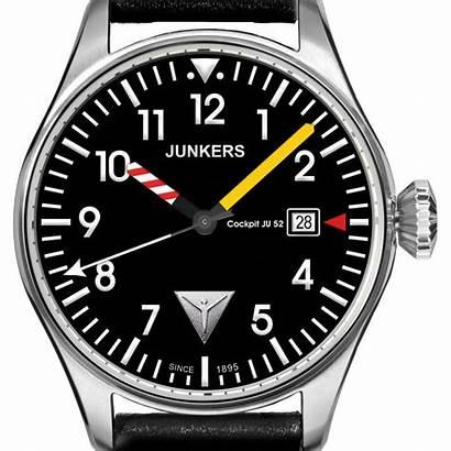 Cockpit Ju52 Junkers Fecha Ju Ocarat Reloj