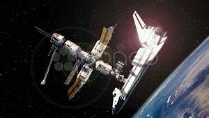 Space Shuttle Docked With International Space Station ...