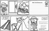 Pages Peru Coloring Read Children sketch template