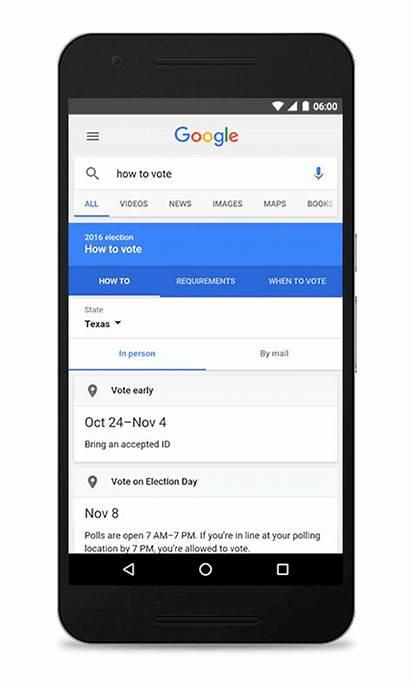 Google Vote Voting Box Ballot Voter Engine