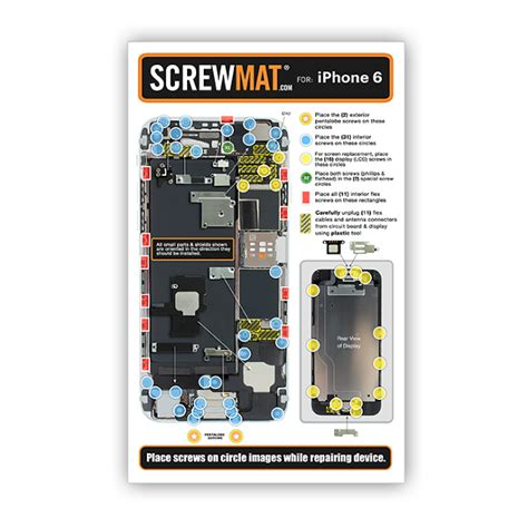 iphone 6 for screwmat for apple iphone 6 phonedoctors 174