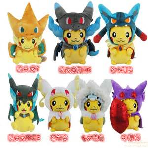 hot sale pokmon plush toys pikachu charizard stuffed animal pokemon doll