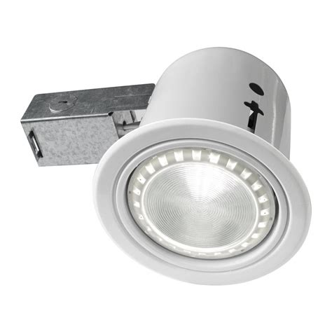 can lights bazz 410l11 410 led indoor outdoor 5 in recessed can light the mine