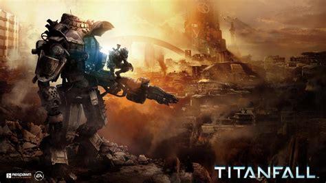 Titanfall Mech Sunset Hd Wallpaper Games Wallpaper Better