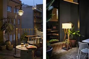 beleuchtung fur terrasse und balkon moebelde With französischer balkon mit led leuchten für den garten