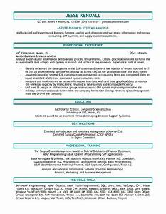 Doc Business Resume Example Business Professional