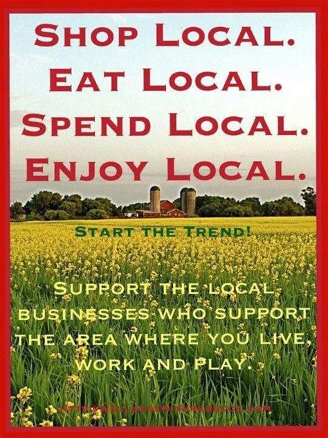 Shop Local Quotes. QuotesGram