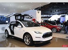 Tesla Model X le monospace électrique L'argus
