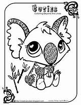 Coloring Pages Cuties Pizza Steve Koala sketch template