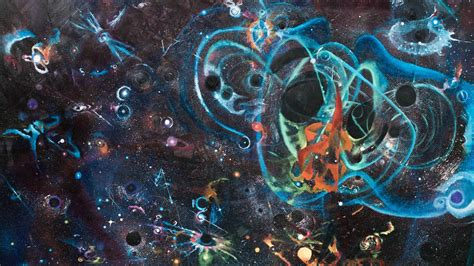 Artwork Inspired By Gravitational Wave Discovery