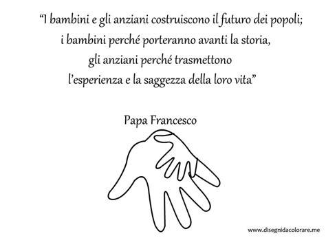 frasi sui colori per bambini frase di papa francesco sui bambini e gli anziani