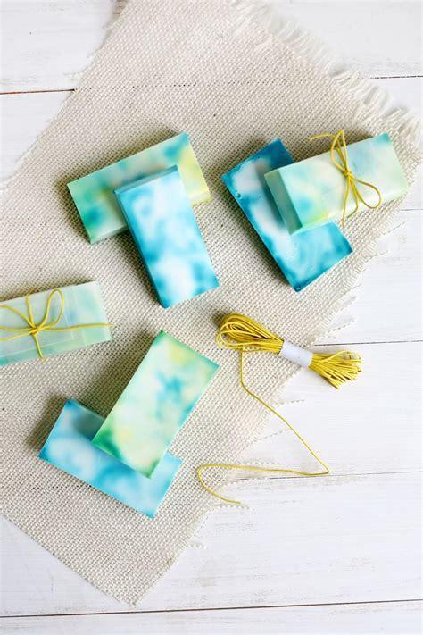 tie dye soap  beautiful mess