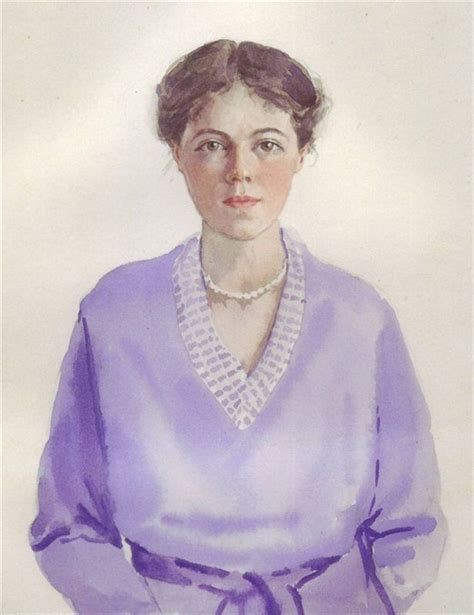 Grand Xenia Wallpaper by Self Portraits By Grand Duchess Olga Alexandrovna Of