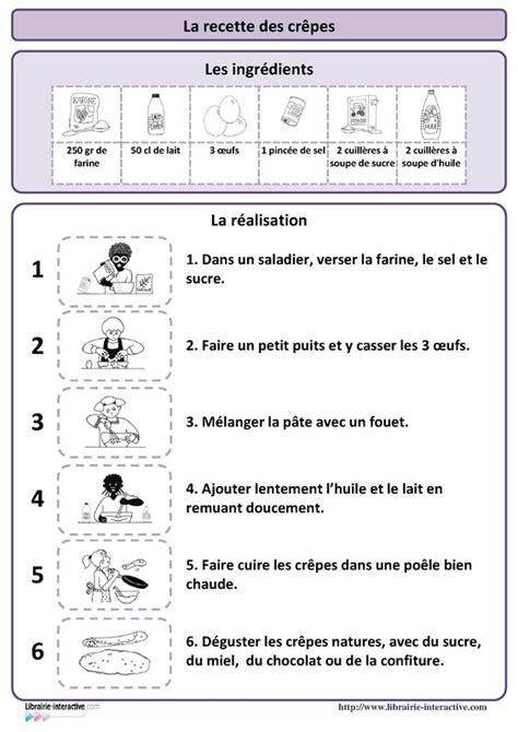 une recette simple pour r 233 aliser des cr 234 pes plusieurs affiches et des documents p 233 dagogiques