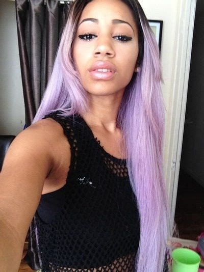 Black Girl With Pastel Hair Hairhappynap Hair