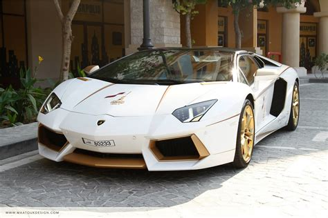 "Gold Plated Lamborghini Aventador Is ""1 Of 1"" [wvideo"