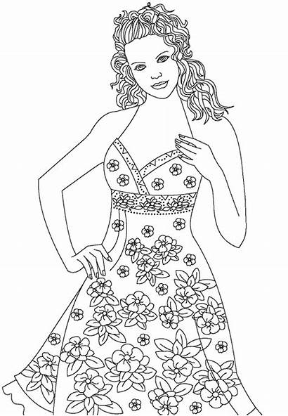 Coloring Pages Outline Colouring Printable Models Books