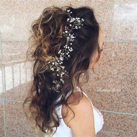 Bridesmaid Hairstyles For Hair Half Up by 31 Half Up Half Hairstyles For Bridesmaids