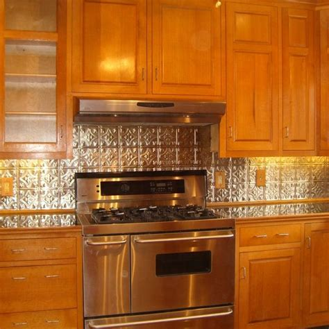 tin backsplash kitchen ideas decorating tin backsplash interior exterior homie 2836