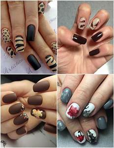 Nail Art Printemps 2018 : le nail art automne 2018 travers 40 designs chics et inspirants ~ Dode.kayakingforconservation.com Idées de Décoration
