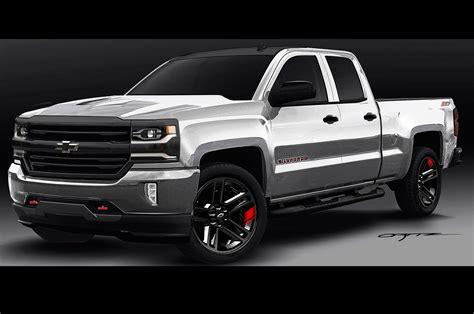 2016 Chevrolet Silverado, Colorado Red Line Concepts Shown