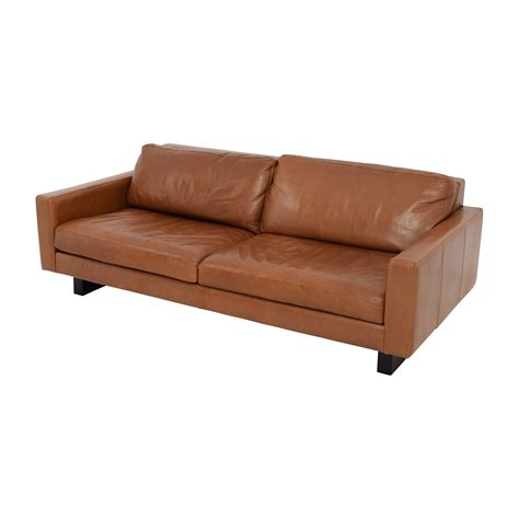 room and board lenox sofa 66 off room board room board 79 quot hess leather sofa