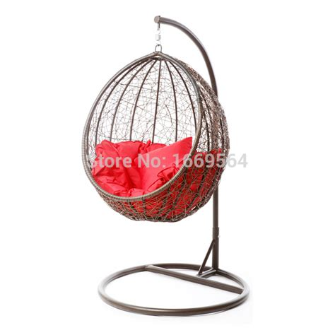 2015 modern outdoor egg shaped hanging swing chair