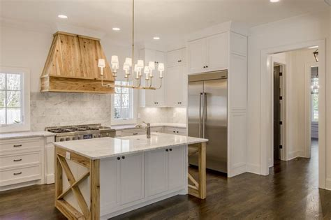 kitchen wood floors pictures the staging scoop reclaimed wood island range 6569
