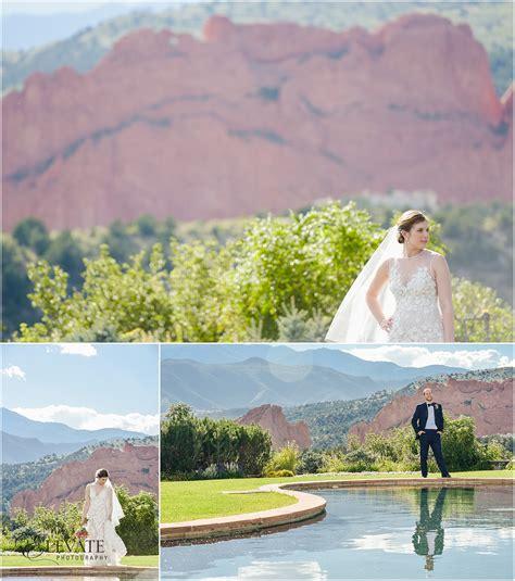 alyssa garden of the gods club wedding photos