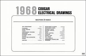 1999 Mercury Cougar Wiring Diagram Manual Original