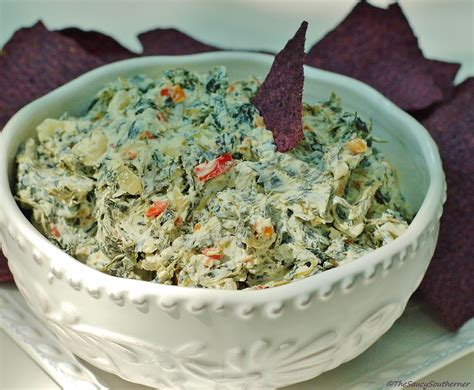 dip recepie creamy spinach dip the saucy southerner