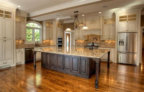 exceptional large kitchen island table  granite