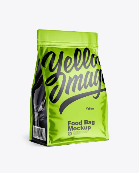 Sign up for a pro account with zofile.com for fast download. Glossy Food Bag Mockup - Glossy Food Bag Mockup - Plastic ...