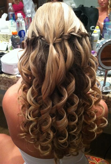 hair prom styles hairstyles for prom with braids and curls hairstyle 3343