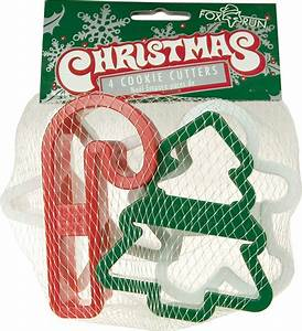 Set Of 4 Plastic Christmas Cookie Cutters  U2014 Kitchenkapers