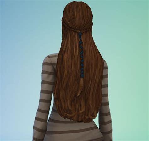 sims medieval long hair conversion sims  custom