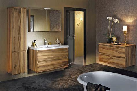 salle de bain moderne en bois tr 232 s nature meuble et
