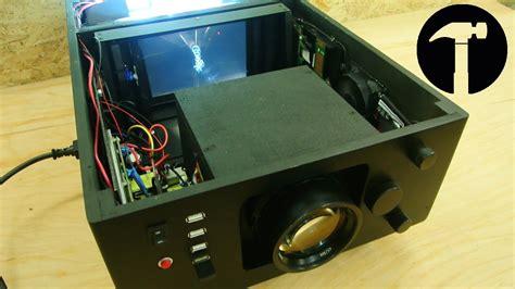 diy projector full hd finish youtube