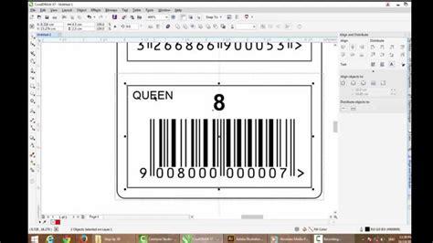 coreldraw  sticker barcode creative youtube