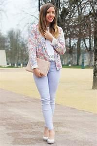 Tenue Printemps Femme : pastel fleurs coeur blog mode la penderie de chloe ~ Melissatoandfro.com Idées de Décoration