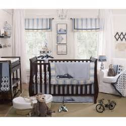 Petit Tresor Luca 4-pc. Crib Set, Blue