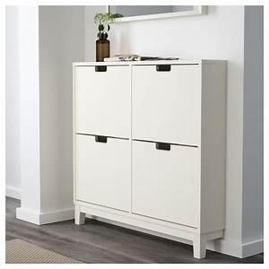 Ikea Schuhschrank Ställ : st ll shoe cabinet with 4 compartments white 96x90 cm ikea ~ Pilothousefishingboats.com Haus und Dekorationen