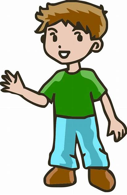 Clip Brothers Cliparts Clipart Cartoon Boy Attribution