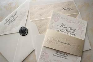 floral letterpress wedding invitations elegant onewedcom With letterpress wedding invitations near me