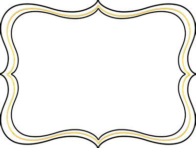 Halloween Border Clip Art by Picture Frame Clip Art Image 12205